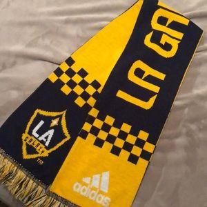 LA Galaxy knit Adidas Scarf.